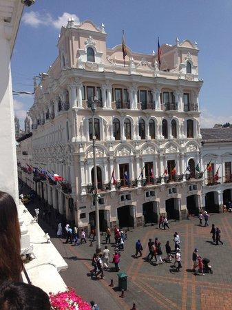 Hotel Plaza Grande: desde el palacio de carndelet