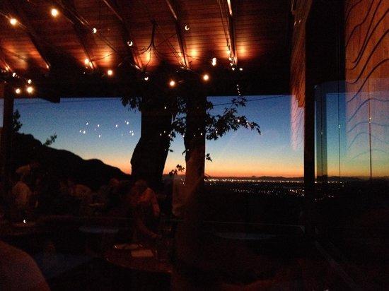 Tokara Restaurant : Sunset