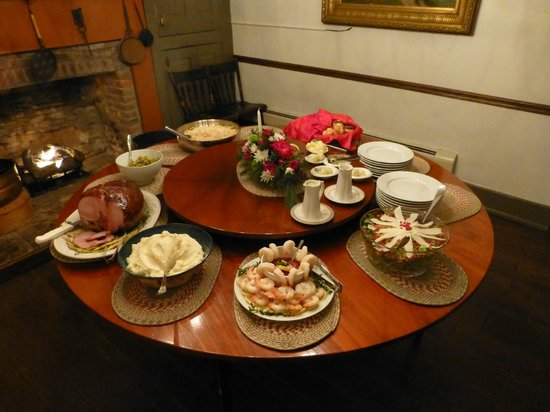 Murphin Ridge Inn: Christmas dinner buffet