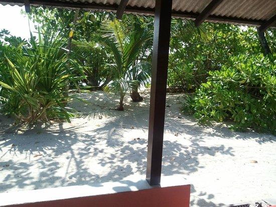 Asdu Sun Island: Vista bungalow