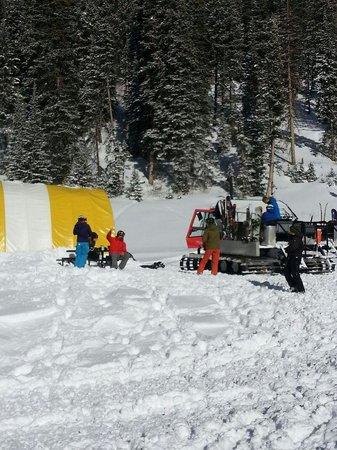Teton Backcountry Guides: Lunch tent jan 2014