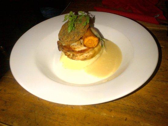 Blue Anchor Inn: Slow Roasted Belly Pork