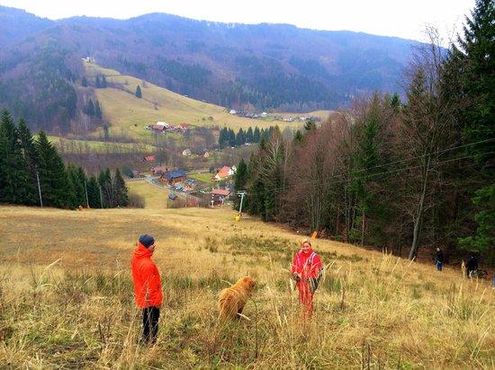 Penzion Rzehaczek : Ski slope nearby
