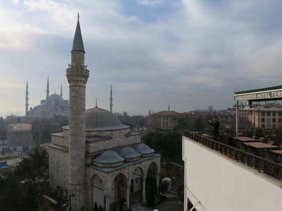 Ambassador Hotel : View from restaurant