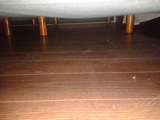 Fiesta Inn Xalapa: Debajo de la cama