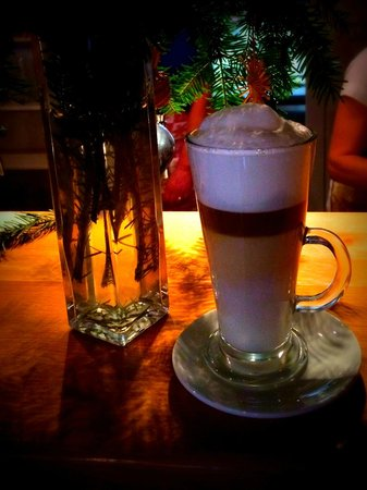 Penzion Rzehaczek: Delicious Latte