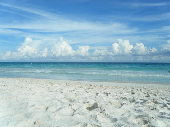 Catalonia Royal Tulum Beach & Spa Resort: Beautiful Beach