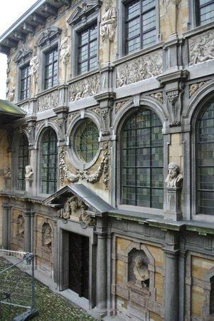 Rubens House (Rubenshuis) : Nice detailed building