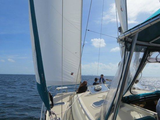 Alnmar Sailing Adventures - Private Day Charters: comfortable and spacious
