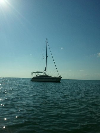 Alnmar Sailing Adventures - Private Day Charters: Peaceful Anchorage