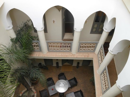 Dar Andamaure: View on second floor