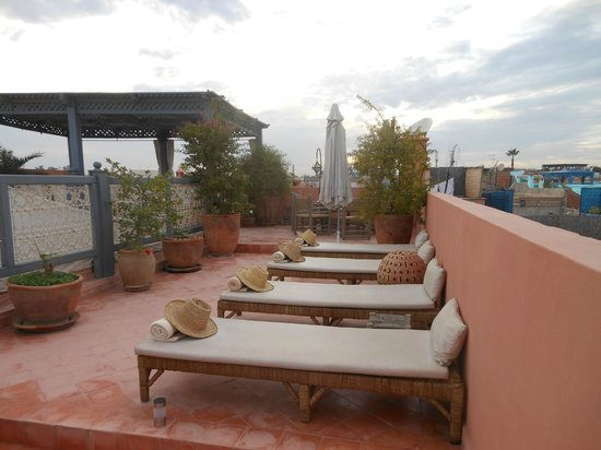 Dar Andamaure: On top of the Riad