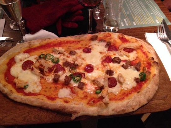 Zizzi - Earls Court : Pizza individual (gigante)