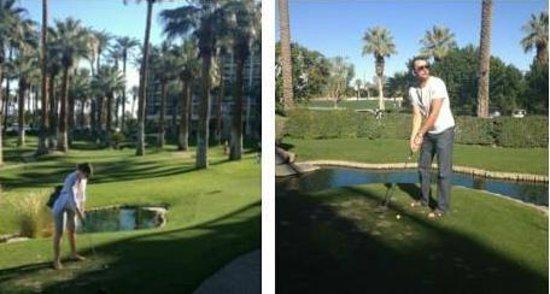 JW Marriott Desert Springs Resort & Spa : Mini-Golf!