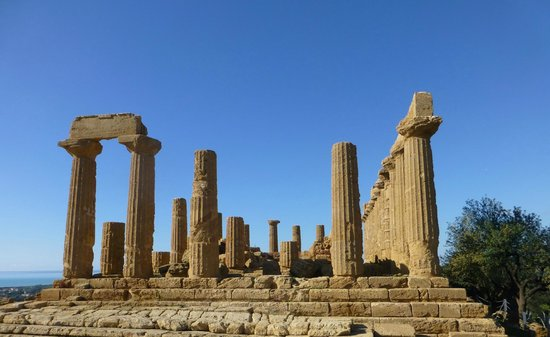 Valley of the Temples (Valle dei Templi): Templenes dal,Herkules tempelet