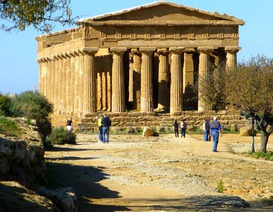 Valley of the Temples (Valle dei Templi): Restene av Conkorde Tempelet