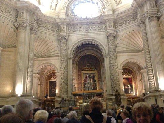 Columbus sarcophagus picture of seville cathedral catedral de sevilla seville tripadvisor - Catedral de sevilla interior ...