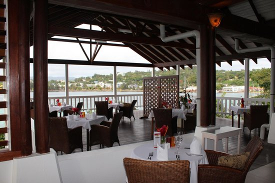 Iririki Island Resort: Kitcheners Restaurante