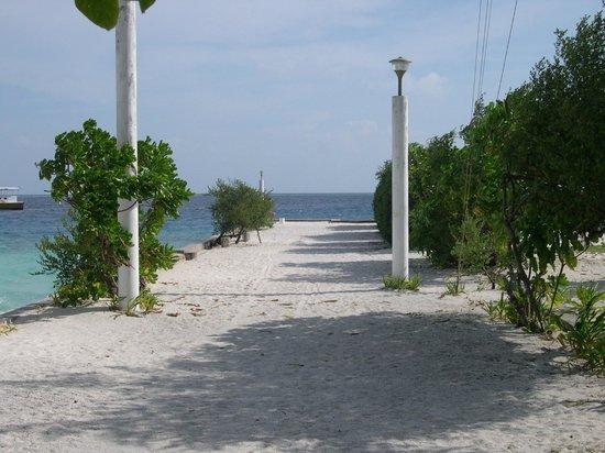 Asdu Sun Island: Attracco barche