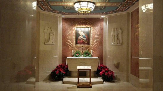 Basilica of the National Shrine of the Immaculate Conception : Lower level