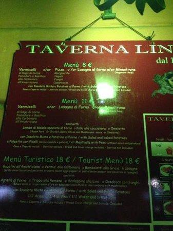 Ristorante Taverna Lino: вывеска у входа