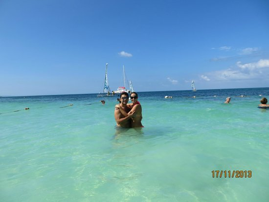 Sandals Montego Bay: clear, warm water