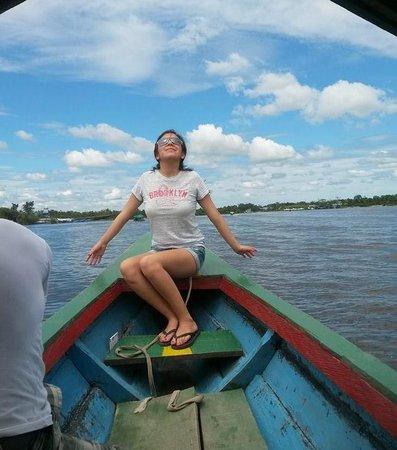 Emperador Terraza: Rio Amazonas!