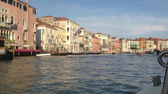 Hotel Saturnia & International : Grand Canal Venice