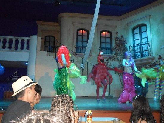 Hotel Playa Mazatlan : show de disney