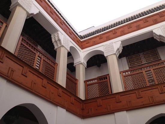 Riad Harmattan : Vue du riad de la cour intérieure