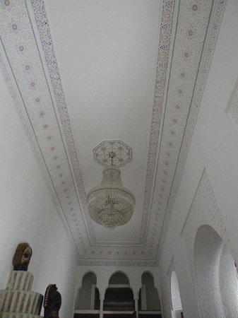 Riad Harmattan : plafond de notre chambre