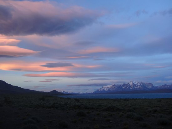 Tierra Patagonia Hotel & Spa : Sunset from bedroom