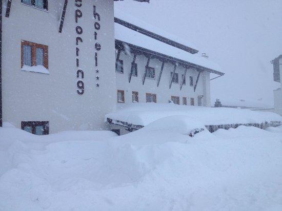 Hotel Sporting: Retro nevicata di natale