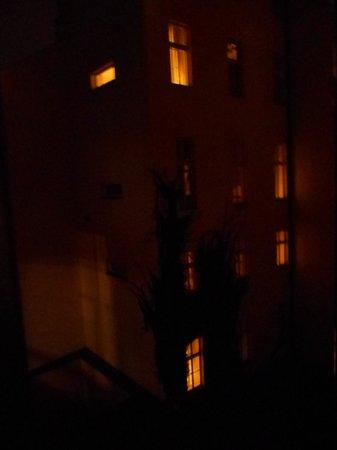 Hotel Grand Majestic Plaza Prague : view from my window