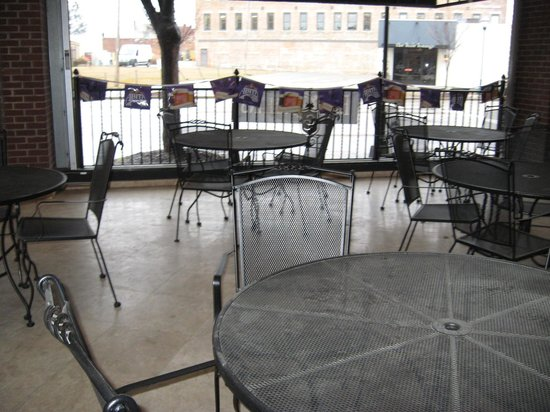 Blue Orleans Creole Restaurant-Downtown: Outdoor seating