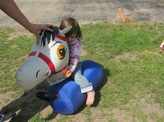 Pineland Camping Park: Pony rides at the Carnival