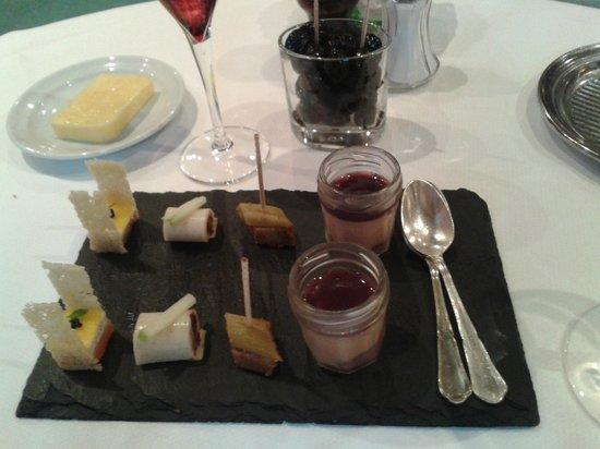 Hotel Le Raisin: les amuse bouche