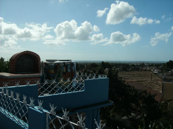 Casa Damarys: view from rooftop terrace