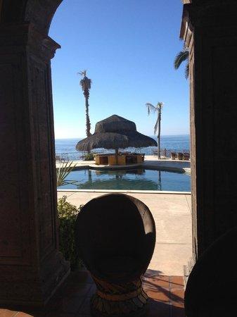 Hacienda Cerritos Boutique Hotel: The pool design is beautiful