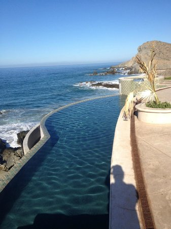 Hacienda Cerritos Boutique Hotel: You can see whales breaching and surfacing with the naked eye with these views