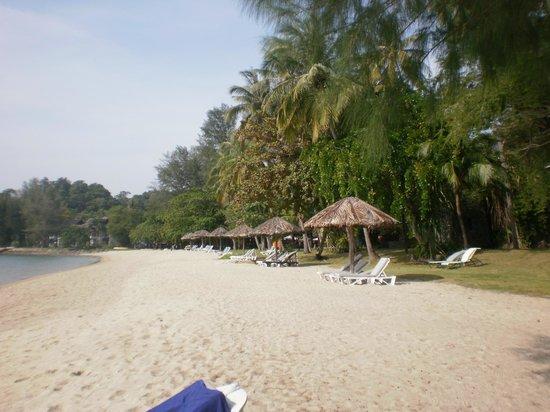 Vivanta by Taj Rebak Island, Langkawi: spiaggia lato piscina