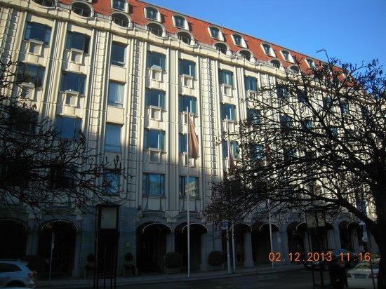 Sofitel Berlin Gendarmenmarkt: Fassade