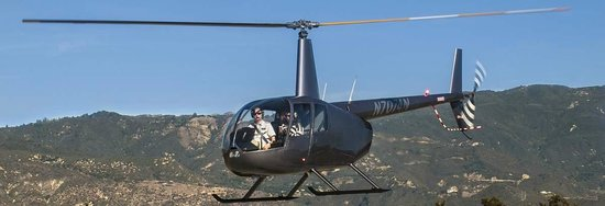 Santa Barbara Helicopter Tours: The Fun begins at lift-off on your SB Heli Tours Flight