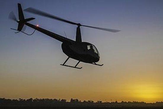 Santa Barbara Helicopter Tours Sunset