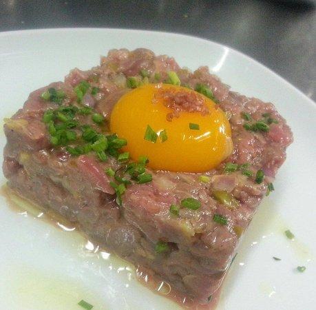 Restaurante Malasaña: Steak tartar