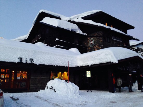 Hotel Monzoni: la grande nevicata
