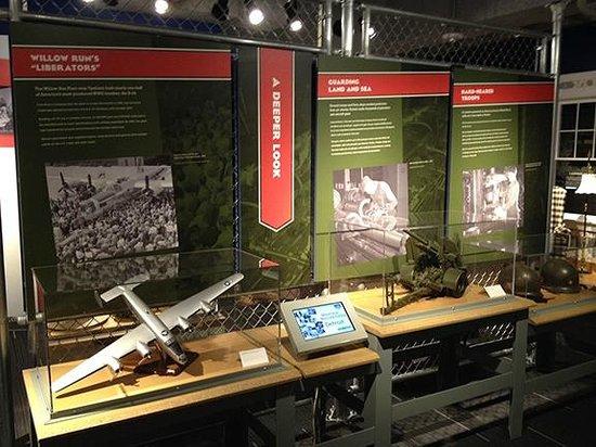 Detroit Historical Museum: Arsenal of Democracy Exhibit
