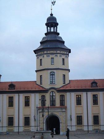 Nesvizh Castle: Главный вход во дворец