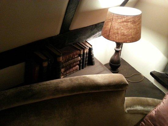 Pomperlut: A l'étage