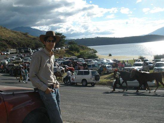 Laguna de Yahuarcocha: yop